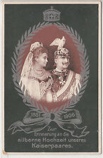 Lithograph - Kaiserpaares - Zur Erinnerung 1881-1906 - Germany - early 1900s