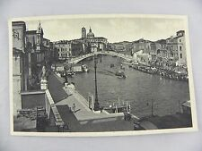 Venezia - The Bridge of the Scalzi - Venice Postcard Old Vintage Standard PC
