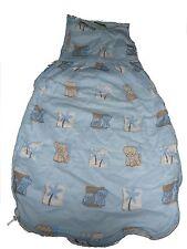 Topolino toller leichter Schlafsack 74 cm hellblau mit Elefanten Motiven !!