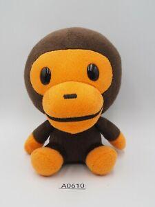 "A Bathing Ape Bape Baby Milo A0610 Sanrio Smiles  Plush 6"" Toy Doll Japan"