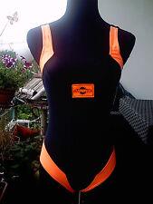 Bade/Schwimmanzug,Mädchen/DamenGröße36,schwarz/orange,Sport,sexy,Beachwear,Neu !