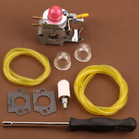 Carburetor Trimmer Kit For Poulan Weed Eater Featherlite FL20 FL20C FL25C FL26