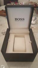 Wooden Box New Hugo Boss Watches Black