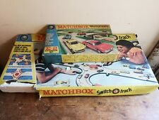 Matchbox Lesney 1960's Switch a Track M-3 & E-2 Rare Vintage Display/Film Prop