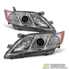 For US Model 2007 2008 2009 Toyota Camry Headlights Headlamps 07-09 Left+Right