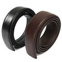 NEW Luxury Leather automatic Strap Belt Without Buckle (2 Colors) 110cm -125cm.
