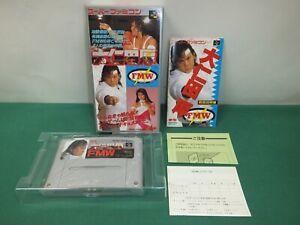 OHNITA ATSUSHI FMW Onita -- NEW. Super famicom, SNES. Japan game. 13549-2