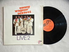 """LP CONNY WAGNER SEXTETT """"Live 2"""" FLASH RECORDS FST 27-0845 GERMANY µ"""