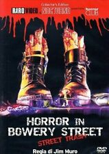 Dvd Horror In The Bowery Street Pelle dell'Orso.....NUOVO