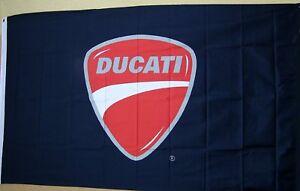 Ducati Motorcycle Premium Flag 3' x 5' Indoor Outdoor (USA Seller) Banner