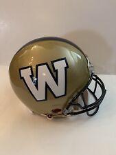 "Winnipeg Blue Bombers ""On Field"" Authentic Full Size Football Helmet"