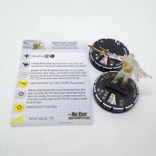 Heroclix Mage Knight: Resurrection set Raydan Marz #025 Chase figure w/card!