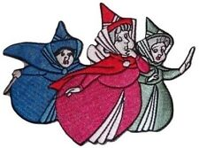 Disney's Sleeping Beauty Flora, Fauna & Meriweather Embroidered Patch