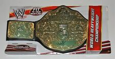 JBL JOHN LAYFIELD signed (WWE HEAVYWEIGHT) *WRESTLING* CHAMPIONSHIP BELT W/COA
