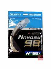 Yonex nanogy 98 badminton String Set 0,66 MM-ORO