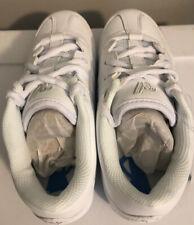 White Varsity Cheerleading II Shoes Size 1 Never Worn w/Dust Bag + Travel Bag