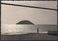YZ0216 Albenga - Isola di Gallinara - Fotografia d'epoca - 1962 vintage photo