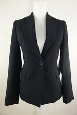 BEST only for you... Made in Korea Women's Black Vertical stripes Blazer Size 4