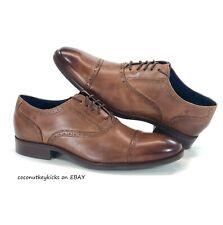 NEW Cole Haan Wayne Cap Toe Oxford Dress Shoes Mens Size 10.5 Brown Tan C30689