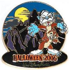 Chip & Dale Expedition Everest Haunted Parks Halloween 2006 Le 2000 Disney Pin
