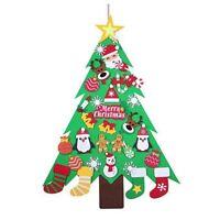 Neu Jahrs Geschenke Kinder Diy Filz Weihnachts Baum Schmuck Weihnachts Gesc D3X7