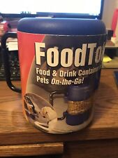 New listing Portable Pet Foodtote For Food And Drink Container For Pets On The Go