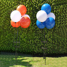 Reusable Balloon Cluster Kit | 5 Balloons, Spike, Poles | Choose Your Colors
