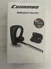 New listing Conambo K10C Pro Bluetooth 5.0 Headset with Cvc8.0 Dual Mic Noise Cancelling
