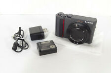 Panasonic LUMIX DC-ZS200 20.1MP Silver- 4K VID- LEICA OPTICS•BRAND NEW•FAST SHIP