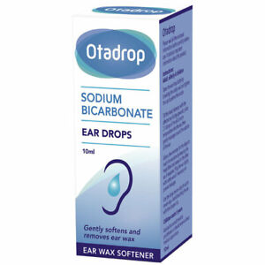 1 x Otadrop Ear Wax Remover Sodium Bicarbonate Drops 10ml