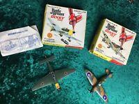 Rare vintage dinky battle of britains 719 spitfire 721 stuka original box set