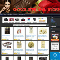 CHOCOLATE STORE - Online Affiliate Business Website Work From Home + Free Domain