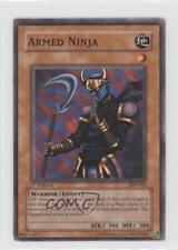 2004 Yu-Gi-Oh! Starter Deck Pegasus 1st Edition #SDP-018 Armed Ninja Card 0b5