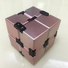 Luxury EDC Infinity Cube Mini Stress Relief Fidget Anti Anxiety Stress Funny Toy