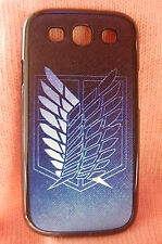 USA Seller Samsung Galaxy S3 III  Anime Phone case Attack on Titan Symbol