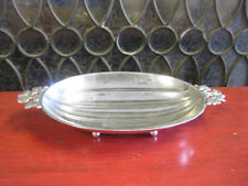 Tiffany & co Footed Sterling Ornate Bowl Squash Vine Pattern Candy Dish