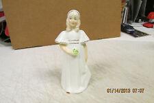 "Royal Doulton ""Bridesmaid"" Hn 2874 Porcelain Figurine"
