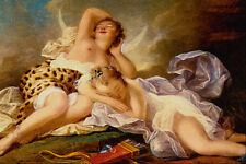 508000 Diana At Rest Jean Honore Fragonard A4 Photo Print