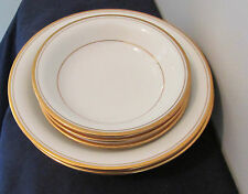 NORITAKE LINTON  PATTERN # 7552 5 LOT 3 BOWLS FRUIT/DESSERT 2 COUPE SOUP