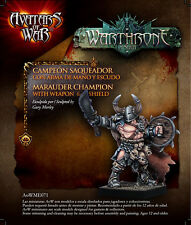 Avatars of War: Marauder Champion with Weapon - AOW71 - Character