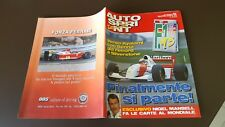 AUTOSPRINT 1993 N 10 SENNA - MANSELL - CASO WILLIAMS 8/17