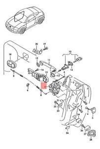 Genuine AUDI Tt Coupe Roadster Tts Door Lock 8N1837015B
