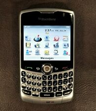 BlackBerry Curve 8330 - Silver Verizon Smartphone Power Adapter Case Headphones