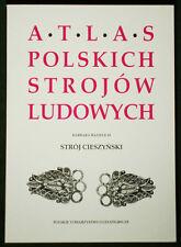 BOOK ATLAS OF POLISH FOLK COSTUME Cieszyn Tesin Czech silver jewelry Poland art