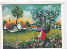 CP ART TABLEAU STOLFA La hotte des fleurs