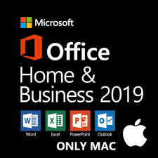 Microsoft Office 2019 Home and Business For MAC 🔥 Lifetime & Fast Delivery