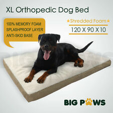 Memory Foam Dog Pet Bed Mat Orthopedic Extra Large Waterproof Big Paws