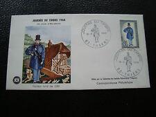 FRANCE - enveloppe 1er jour 16/3/1968 (journee du timbre) (cy70) french