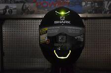 XL Shark Skwal LED Light Up Street Full Face Motorcycle Helmet Instinct White