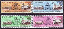 Gambia 1966 SC 228-231 MH Set Bathurst 150th Anniversary